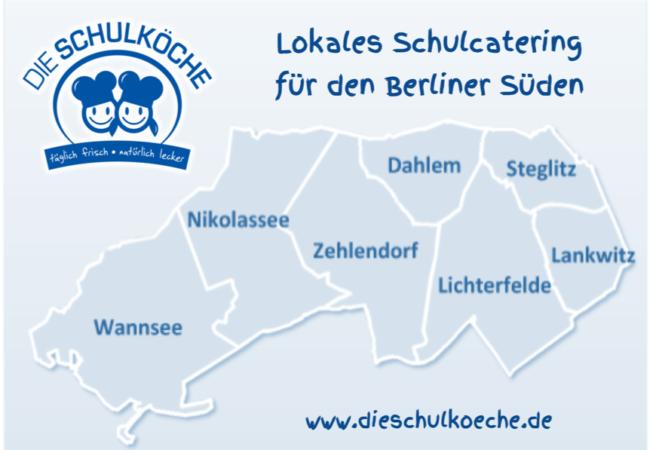 Lokales Schulcatering Zehlendorf Steglitz